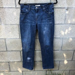 LEVIS High Waisted Straight Leg Jeans